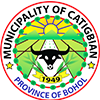 Municipality of Catigbian Official Logo